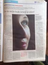Minke in het Dagblad van het Noorden over Zie je Morgen